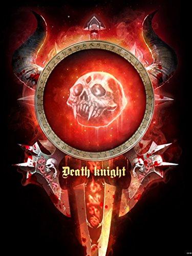 (World of Warcraft Class Death Knight Emblem Banner Flag Fan Art 24x32 Poster Print)
