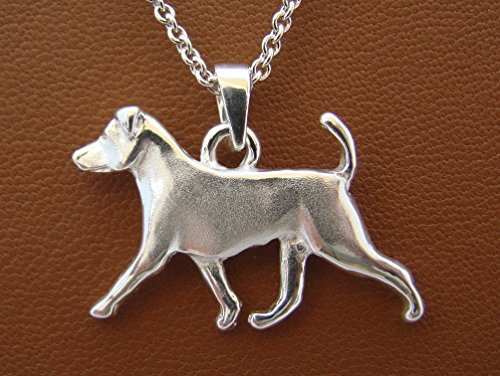 r Jack Russell Terrier Moving Study Pendant ()