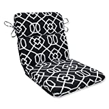 Pillow Perfect Kirkland Black Rounded Corners Chair Cushion Review