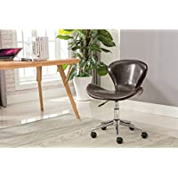 Porthos Home Brynne Office Chair, Brown