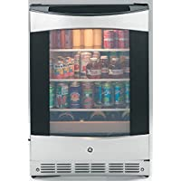 PCR06BATSS 24 ADA Compliant Beverage Center with 5.5 cu. ft. Capacity 3 Spillproof Glass Shelves 2 Wine Racks Automatic Defrost and Reversible Door in Stainless Steel