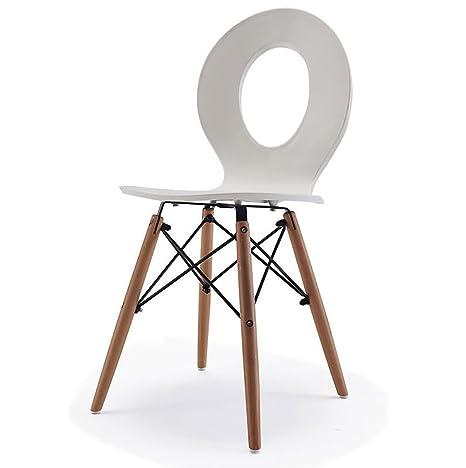 Sedie Moderne In Plastica.Zxcy Sedie Cucina Sedia Multifunzionale Sedia In Plastica Semplice