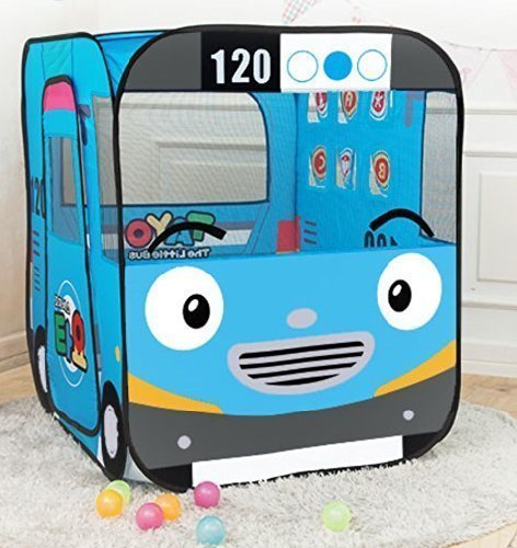 TAYO Bus babyTent / ROBOCAR POLI baby Tent (tayo) (Tayo The Little Bus Garage)