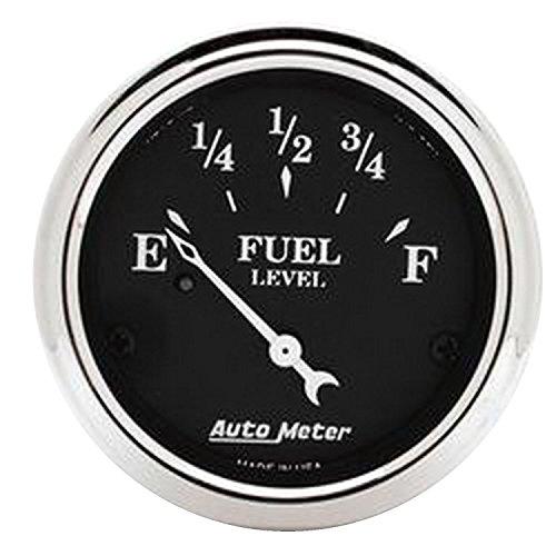 Auto Meter 1718 Old TYME Black Fuel Level Gauge