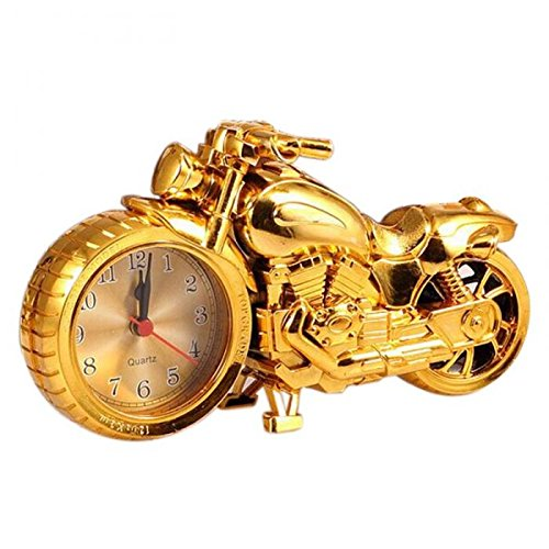 Motorcycle Alarm Clock Shape Creative Retro Gifts Upscale