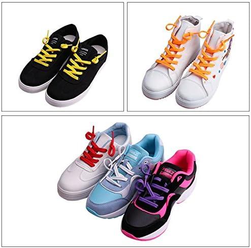 靴ひも スニーカー 靴紐 シューレース キッズ メンズ レディース用 歩行 登山 長距離走行 脱ぎ履き楽々 子供から高齢者までも対応(グレー)