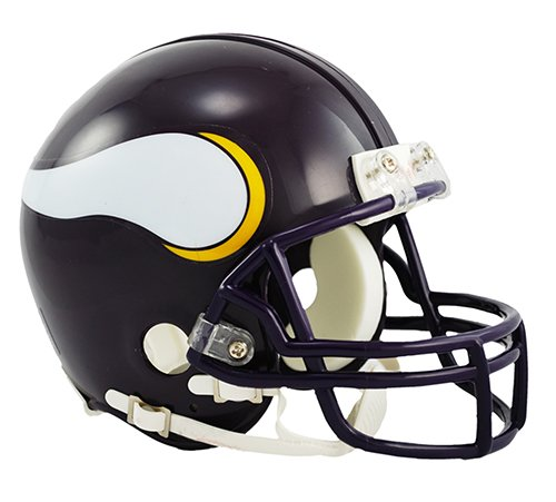 Minnesota Vikings 1983-2001 Throwback NFL Riddell Replica Mini Helmet