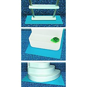 HydroTools by Swimline Protective Pool Ladder Mat and Pool Step Pad