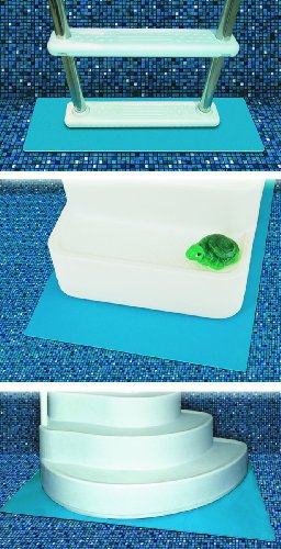 Hydro Tools 87956 Protective Pool Ladder Mat and Pool Step Pad, 36-Inch by 36-Inch (Above Ground Pool Liner Accessories)