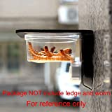SLSON 100 Pack Gecko Food and Water Cups Gecko
