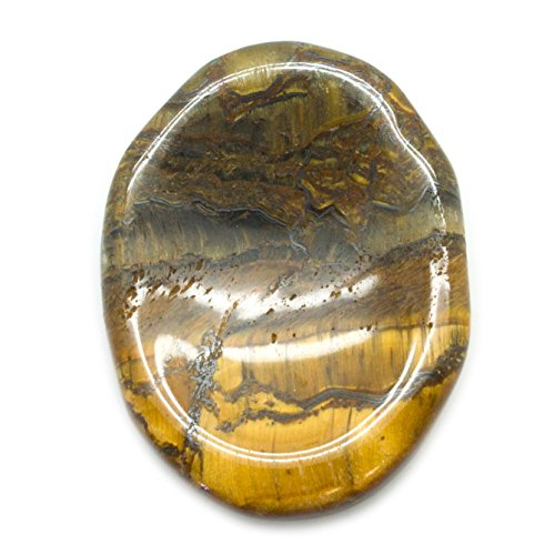 Tiger Eye Worry Stone (Tigers Vault)