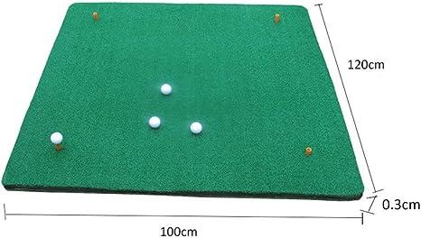 Ppy778 Colchoneta de Golf Práctica de Golf Redes netas de Golf para el jardín Colchoneta de práctica de Columpio de césped Profundo y Corto de Doble Cara: Amazon.es: Deportes y aire libre