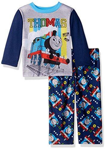Thomas The Train Baby Boys Choo 2-Piece Pajama Set, Thomas time, 18M (Thomas And Friends Boo Boo Choo Choo)