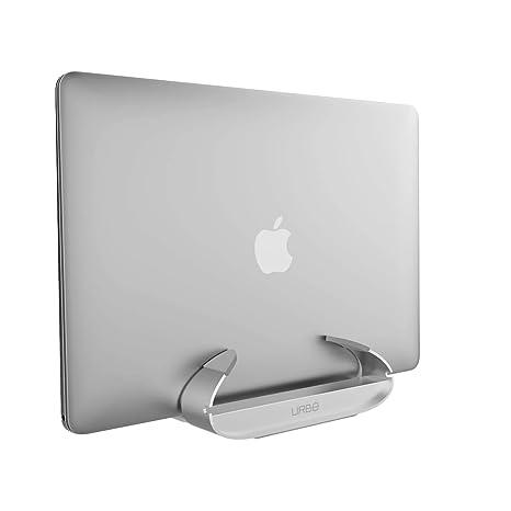 Urbo - Soporte Vertical Ajustable para Ordenador portátil, Color Plateado