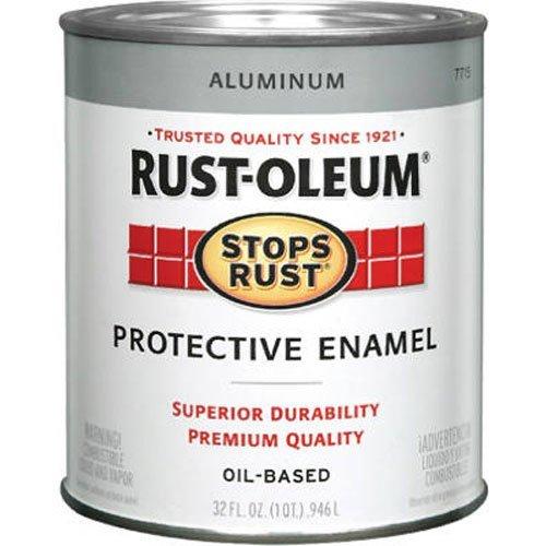 Rustoleum 1 Quart Aluminum Protective Enamel Oil Base Paint