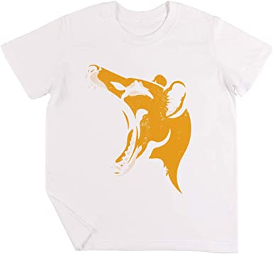 Tasmania Tigre Plantilla Niños Chicos Chicas Unisexo Camiseta ...