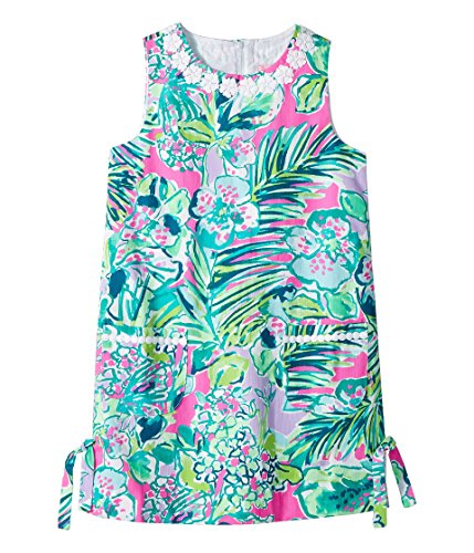 Lilly Pulitzer Kids Baby Girl's Little Lilly Classic Shift Dress (Toddler/Little Kids/Big Kids) Multi Early Bloomer 10