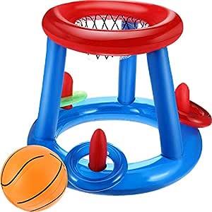 Boao Piscina Baloncesto Baloncesto Flotante Piscina Baloncesto Aro ...