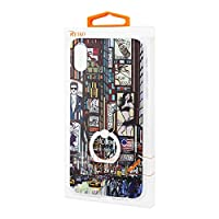 Reiko Apple iPhone X Time Square Streetscape Design Case with 360 Degree Rotating Ring Stand Holder Cell Phone Case for Apple iPhone X - Mix