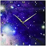 Cheap 3dRose dpp_112992_2 Cool Outer Space Stars and Planets Dark Blue Design-Science Fiction Sci-Fi Geek Astronomy Nerd-Wall Clock, 13 by 13-Inch