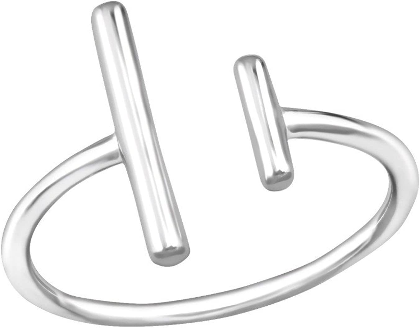 Nathis Double Bar Minimalist Ring