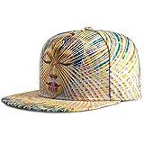 KUYOU Women's Hip-Hop Trucker Hat Baseball Cap (Buddha Light)