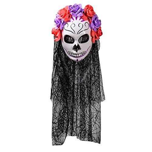 Sayolala Led Halloween Mask Carnival Mask Venetian Masquerade Masks Mardi Gras Party Purge Mask Party City