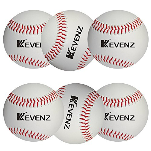 6-Pack Kevenz Competition Grade Baseballs,Advance Baseball