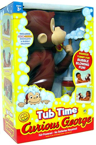 Curious George - Tub Time Curious George