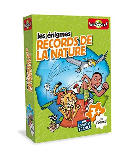 Bioviva - 0101001112 - Jeu de Société - Records de la Nature - Edition Bleue