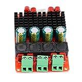 Walfront Amplifier Board Single/Dual Channel Power Amplifier DC 12V 24V AMP TPA3116 50W2 Audio