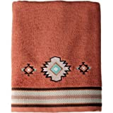 Bath Towel Southwestern Style Embroidered Icons (1)