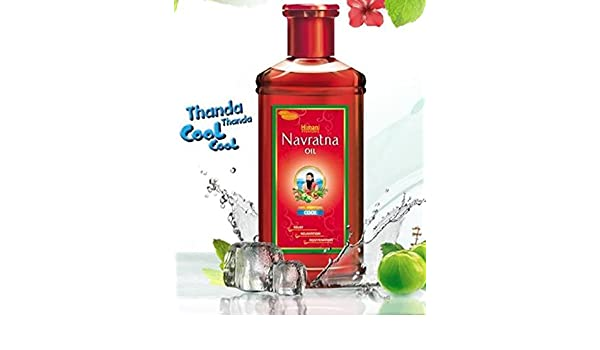 Navratna Hair Oil/Emami/Himani Emami/Himani Navratna base de hierbas ayurvédicas de pelo (multiusos) 200ml: Amazon.es: Belleza