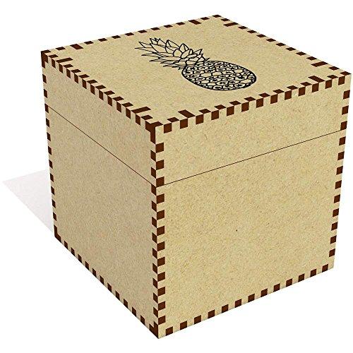 (Azeeda Large (81mm) 'Pineapple' Jewellery / Trinket Box (JB00013413))