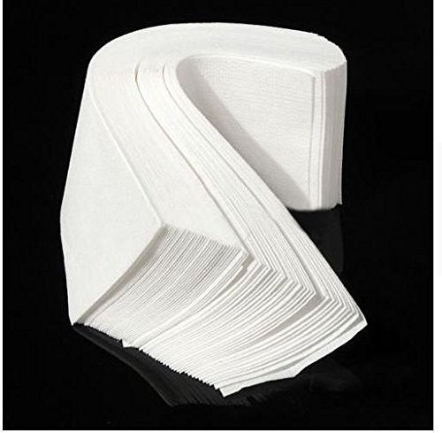 Express$ 1Pack 100pcs Hair Removal Depilatory Nonwoven Epilator Wax Strip Paper Roll Waxing