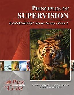 DSST Principles of Supervision: Study Guide & Test Prep ...