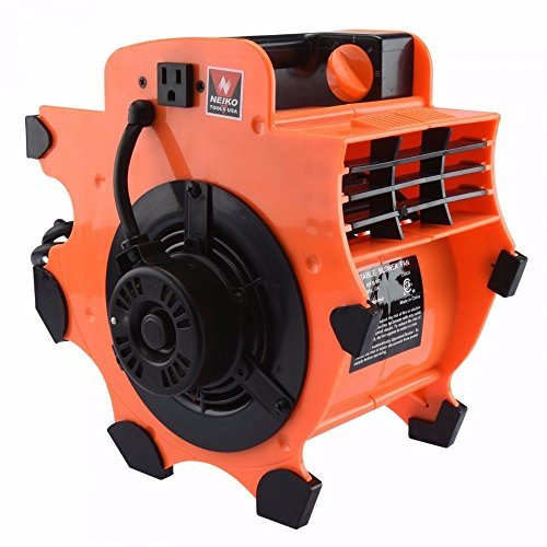 Portable Industrial Fan Blower Carpet Dryer Air Mover Light Construction Tools by Unknown