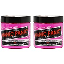 Manic Panic Semi-Permanent Hair Color Cream - Cotton Candy Pink 4oz