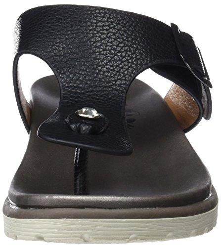 Sandales Femme Ouvert Bout Black Xti 47947 Noir Ifq5WgFg