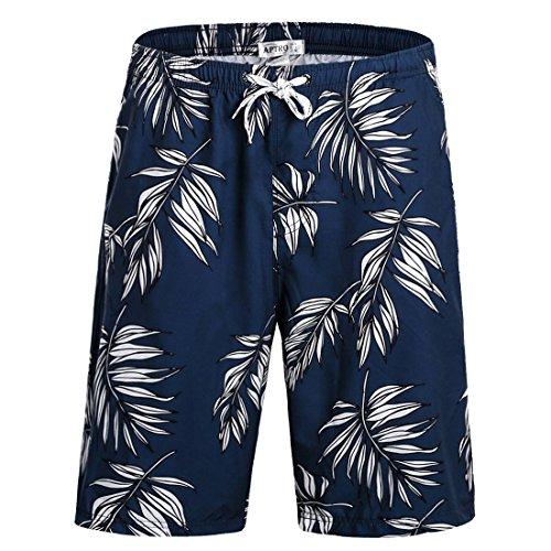 APTRO+Board+Shorts+Mens+Swimwear+Beach+Shorts+Bathing+Suits+Trunks+DZSK+HWP024+XL