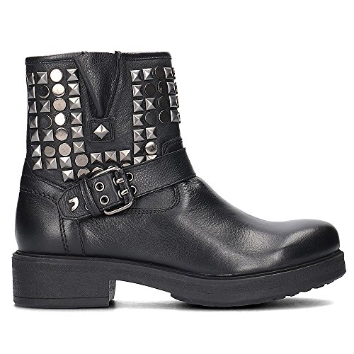 Gioseppo Black Studs Bootie Black by 6xafFqw4