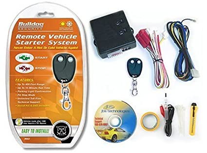 Amazon.com: Bulldog RS82-I Do It Yourself Remote Starter - Automatic on bulldog security rs83b wiring diagrams, bulldog security remote car starter, bulldog security talking vehicle alarm system,