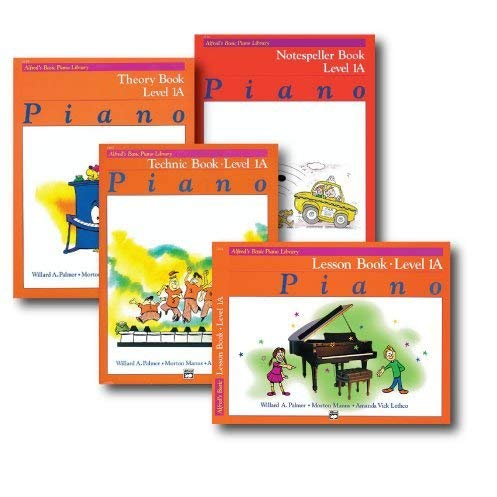Alfred Basic Piano Library Course Pack Level