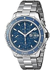TAG Heuer Men's CAK2112.BA0833 Analog Display Swiss Automatic Silver Watch