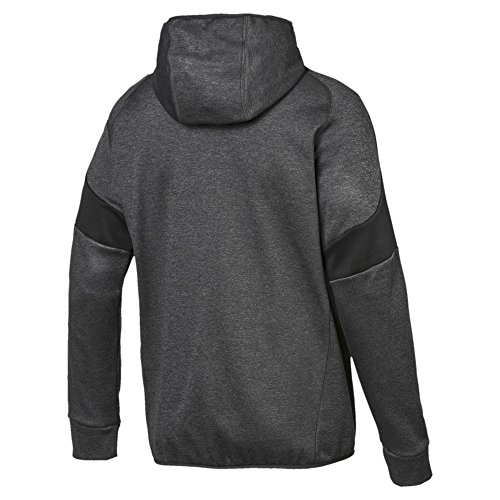 Gray shirts Puma Warm Dark Hoody Heather Fz Homme Evostripe Sweat C7wg8q