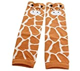 Baby Kids Boys Girls CUTE ANIMAL Leg Warmer (Yellow Giraffe)