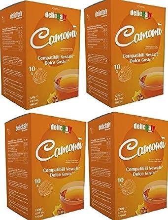 Manzanilla Con Miel Y Naranja 64 Cápsulas Compatibles Dolce Gusto Infusiones Amazon Es Alimentación Y Bebidas
