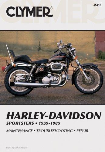 Clymer Harley-Davidson Sportsters 59-85: Service, Repair, Maintenance by Inc. Haynes Manuals (1985-02-01) Harley Davidson Service Manual Online