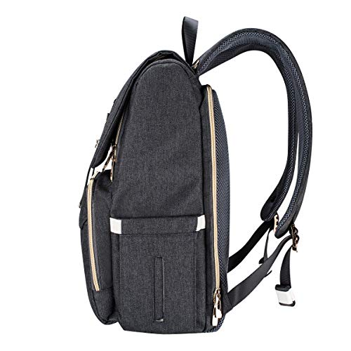 b6d67a72b4c Bebamour Casual College Backpack Lightweight Travel Wide Open Back to  School Backpack for Women Men
