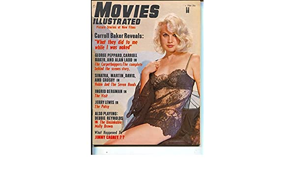 Movies Illustrated-Carroll Baker-Frank Sinatra-Sammy Davis Jr-Dean Martin-Aug-1964 at Amazons Entertainment Collectibles Store